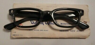Vintage VICTORY OPTICAL Roman Surfwood 48/22 Eyeglass Frame New Old Stock #312