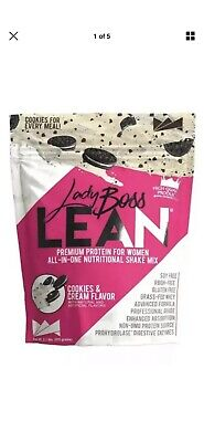 Lady Boss Lean Protein Powder LIMITED EDITION COOKIES AND CREAM OREO! sold out!