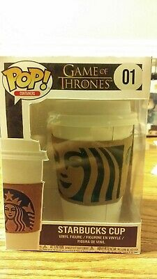 Funko Pop Game Of Thrones Starbucks Cup Custom Parody