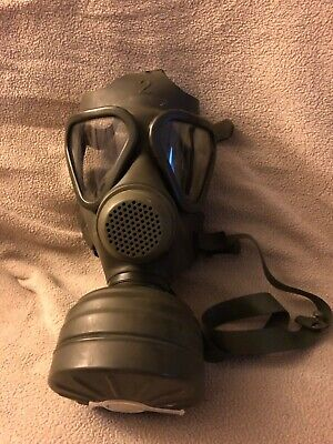 German Gas Mask with container