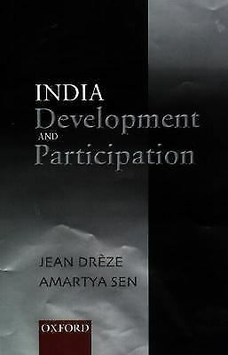 India, development and participation by Drèze, Jean