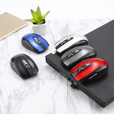 2.4GHz Wireless Cordless Optical Scroll Mouse Mice For PC Laptop Computer USB WW
