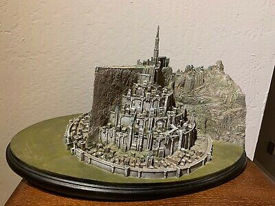 Lord of The Rings Minas Tirith Large Resin Statue