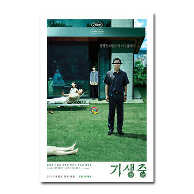 Parasite 2019 Movie Art Poster Kang-ho Song Silk Canvas Poster Print 32x48 inch