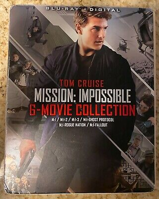 Mission: Impossible - 6 Movie Collection [Blu-ray] + Limited Digital