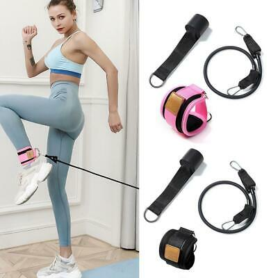 1pair Fitness Resistance Bands Tubes Handles For Stretch Exercise Band Train JH