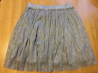 Next Shimmer Party Skirt Silver Aged 8 Years