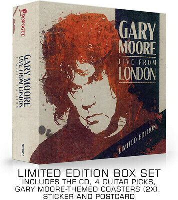 Gary Moore : Live from London CD Album (Deluxe Edition) (2020) ***NEW***