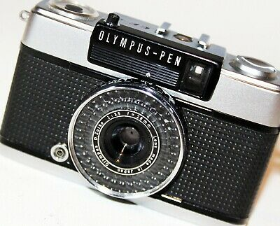 OLYMPUS PEN EE 3 35mm Half Frame film Camera D ZUIKO 28mm f3.5 Lens VGC WORKING