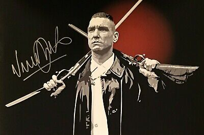 Hand Signed 8x12 photo VINNIE JONES Lock Stock and Two Smoking Barrels + my COA
