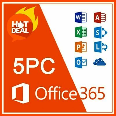 Instant Microsoft Office 365 Pro Lifetime Account 5 devices