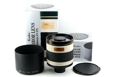 Kenko Mirror Lens 800mm F8.0 DX Reflex Telephoto From JAPAN #3526