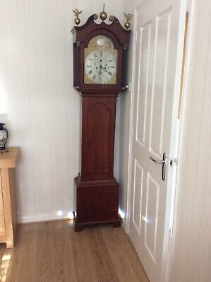 Scottish long case Grandfather clock 8 Day mid /late 1700's
