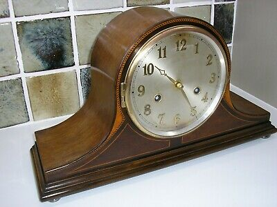 1940's 'COCKED HAT' MANTLE CLOCK (CONVERTED)