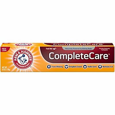 Whitening Fluoride Complete Care Toothpaste for stronger Healthier Teeth (6oz)