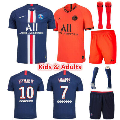 2019-2020 Hot Football Kits Soccer Suits Kids Adults Jersey Strip Sports Outfit