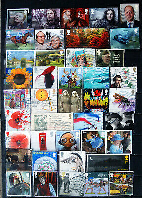 A Great Collection Of Used Recent Issue GB Commemoratives, All Low Values.