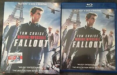 Mission: Impossible - Fallout w/ Slipcover! (Blu-ray/DVD/Digital 3-Disc)
