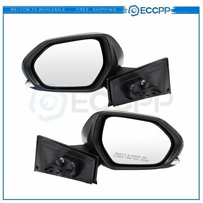 For 16-18 Toyota Prius Power Heated LED Signal Manual Right Side Mirror Black