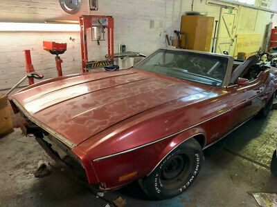 1973 Ford Mustang Convertible Restoration Project CLASSIC VINTAGE AMERICAN CAR