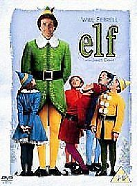 Elf Dvd 2004 Christmas Dvd Festive Favourite Will Ferrell James Caan Cert Pg