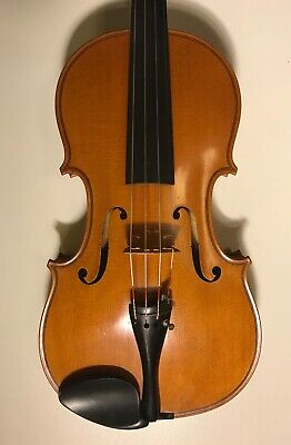 Very powerful French solo violin-Mirecourt c1920, check video!