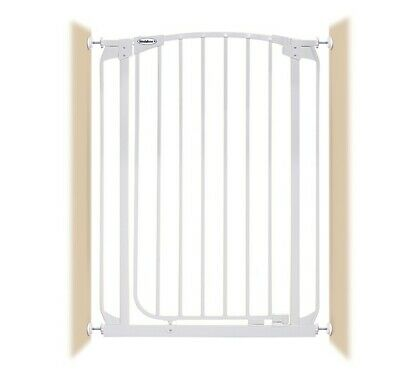 """28""""-32"""" XTall Auto-Close Adjustable White Indoor Dog, Pet & Baby Safety Gate"""