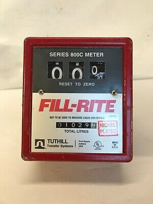 Fill-Rite Series 800C Meter