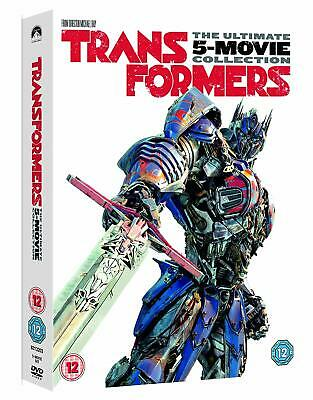 """Transformers: 5-Movie Collection (DVD)  """"New & Factory Sealed"""""""