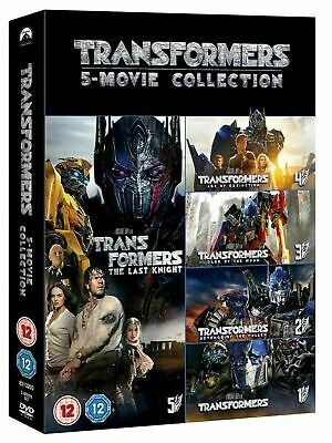 """Transformers: 5-movie Collection [DVD] """"New & Factory Sealed"""""""