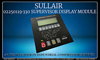 02250119-330 Sullair Supervisor Compressor Controller With One (1) Year Warranty