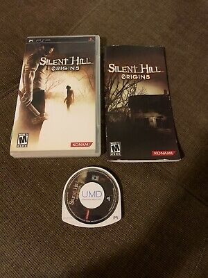 Playstation PSP Game Silent Hill Origins CIB Complete In Box
