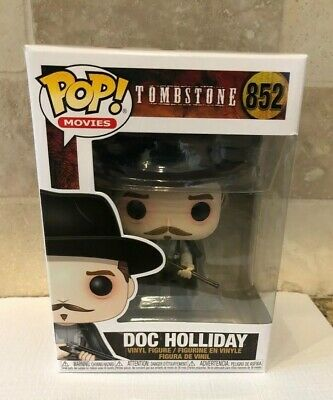 New Funko Doc Holliday Tombstone Pop Movies #852 In Hand Quantity