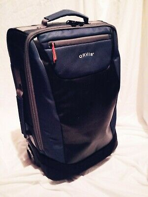 "Orvis Save Passage carry on Luggage 2 Wheel, smooth glide roll, 22.5"" Dark Teal"