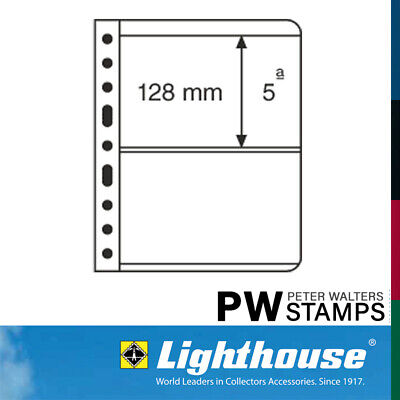 Lighthouse VARIO Sheets Pack of 5 Black Size 5S