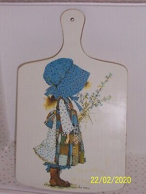 Vintage Holly Hobbie Retro Chopping Board or Wall Hanging