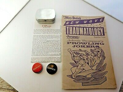 Vtg CLOSE-UP MAGIC LOT - Yedid Thaumatology PROWLING JOKERS - Lourido CAPtivated