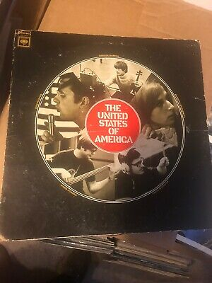 THE UNITED STATES OF AMERICA s/t LP COLUMBIA CS 9614 orig 2-eye PSYCH VG-/VG