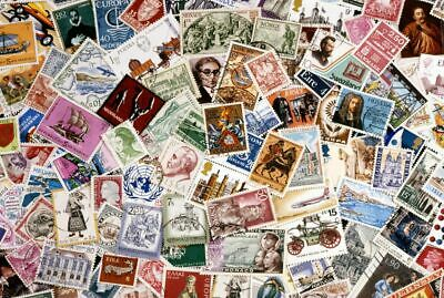 200 All Different Stamps from Collection Many Different Countries