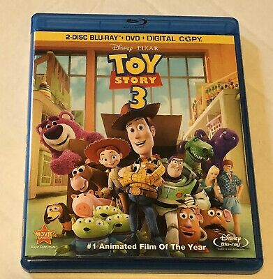 Toy Story 3 (4-Disc Combo Pack ) [2 Blu-ray + DVD + Digital Co