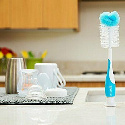 Munchkin Baby Milk Bottle Cleaning Brush Nipple cleaning Brush FAST SHIPPING