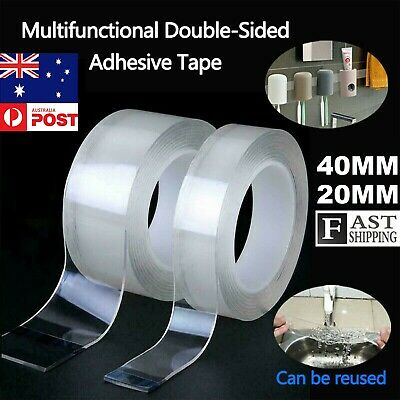 3M Clear Double Sided Super Sticky Heavy Duty Adhesive Tape For wall hook Tools