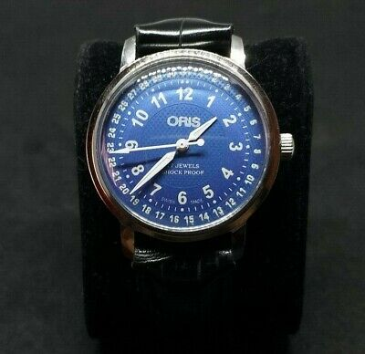 Beautifull Oris Attentions  No Pointer No Date  Fhf St 96 Hand Winding