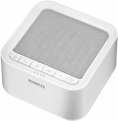 AVANTEK Sleep White Noise Machine, 20 Soothing Natural Sounds Therapy for Baby,