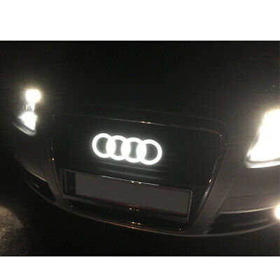 Audi Front Grill Ring Emblem Logo Holder RS1 RS3 RS4 RS5 RS6 RS7 Q3 Q5 Q7 RS #5
