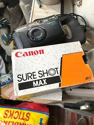 Vintage Canon Sure Shot Max Camera