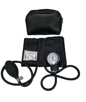 LINE2design Manual Blood Pressure Cuff Aneroid Large Adult BP Monitor With Case