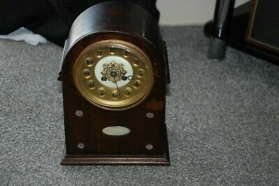 Antique French Mantle Clock ,  Japy Freres spares or repairs