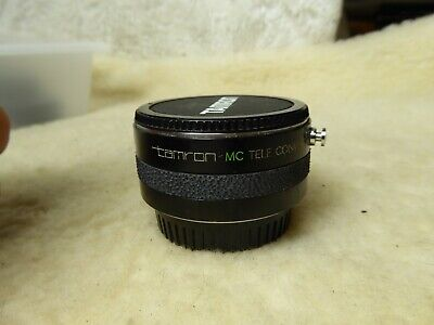 TAMRON MC TELE CONVERTER 2X FOR CONTAX - With End Caps
