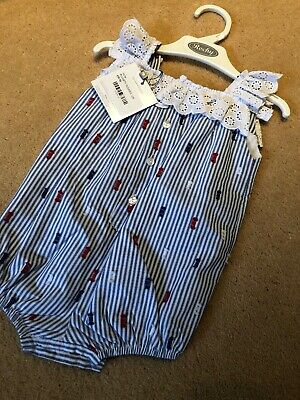 Rochy Baby Girls Romper Age 12 Months Bnwt Orinally Selling For £50!
